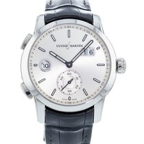 Ulysse Nardin Dual Time 3343-126/91 Very good Steel 42mm Automatic
