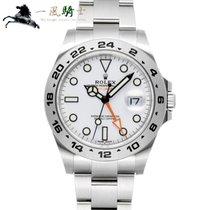 Rolex Explorer II Stal 42mm Biały