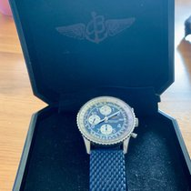 Breitling Old Navitimer Steel 41mm Blue Arabic numerals