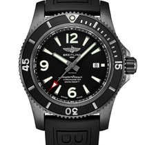 Breitling Superocean II 44 Steel 46mm Black United States of America, Iowa, Des Moines