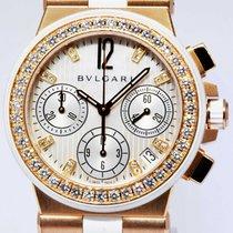 Bulgari Złoto różowe Automatyczny Masa perłowa 35mm używany Diagono