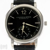 A. Lange & Söhne White gold Automatic Black 37mm pre-owned Langematik