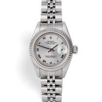 Rolex Lady-Datejust Gold/Steel 26mm Silver Roman numerals United Kingdom, London