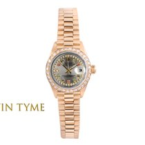 Rolex Lady-Datejust Yellow gold 26mm Pink