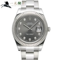 Rolex Datejust II Acero 41mm Gris