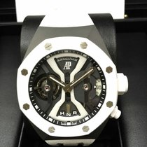 愛彼 (Audemars Piguet) Royal Oak Concept TOURBILLON GMT White...