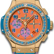 Hublot Big Bang Pop Art new 41mm Yellow gold