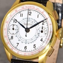 Eberhard & Co. Yellow gold Manual winding White 38mm pre-owned