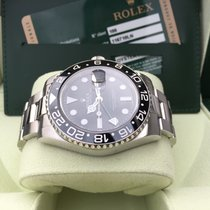 Rolex GMT-Master II 116710LN Box Papers 2007 LC100