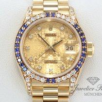 ロレックス (Rolex) Datejust Gelbgold 750 Diamanten Brillanten...