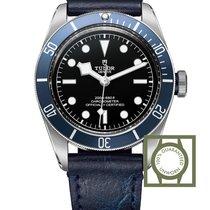 Tudor Heritage Black Bay Blue Leather