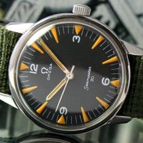 Omega Military P. A. F. Seamaster 30 Winding 1963s teel Mens...