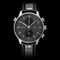 IWC Portuguese Chronograph new Steel