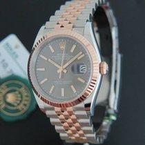 Rolex Datejust Everosegold/Steel diamonds NEW 116231