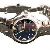 Krieger Stainless Steel Watch Blue Dial Automatic