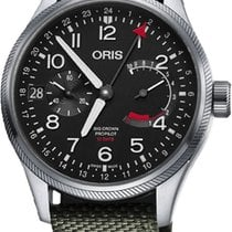 Oris Steel 44mm Manual winding Big Crown ProPilot new United States of America, New York, Airmont