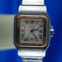 Cartier Santos Galbée  Steel and Gold