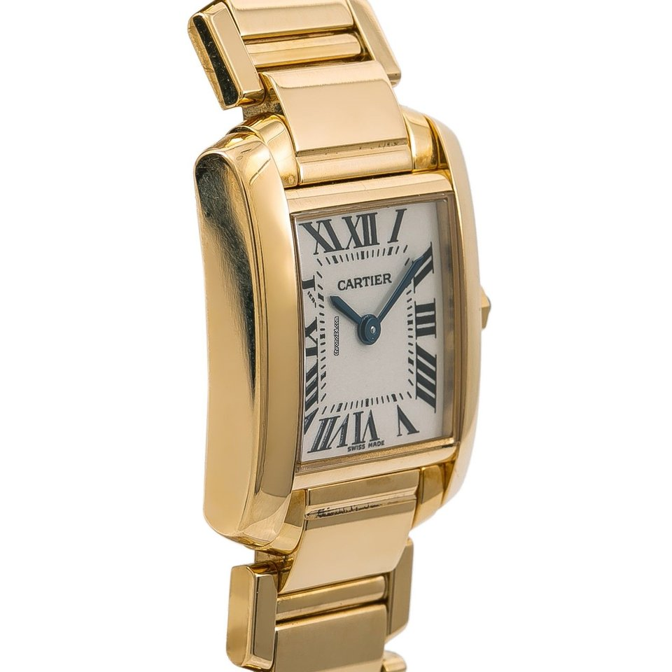 Cartier Tank Francaise 2385 W520065 Womens Quartz Watch 18k... za Kč 180  541 k prodeji od Trusted Seller na Chrono24 e518f9864c