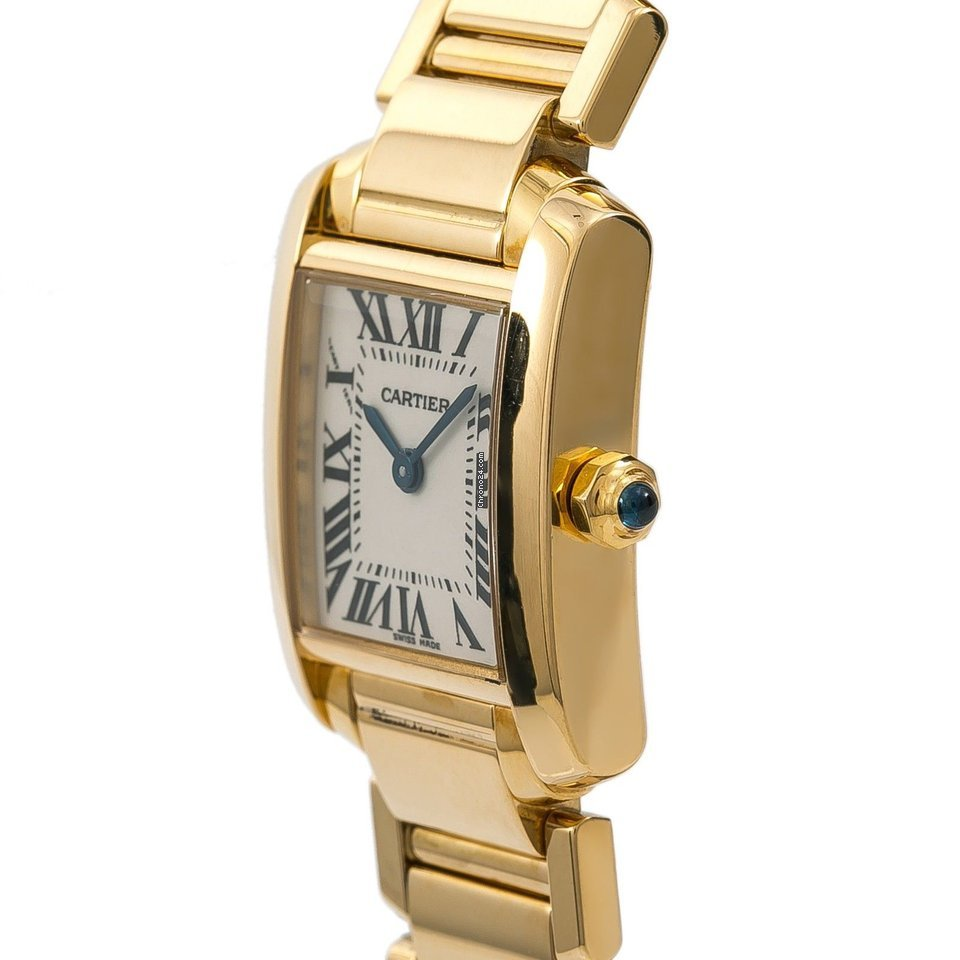 Cartier Tank Francaise 2385 W520065 Womens Quartz Watch 18k... za Kč 180  541 k prodeji od Trusted Seller na Chrono24 e518f9864c
