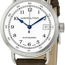 Hamilton H78215553 Steel Khaki Navy new