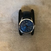 Oris Artix Pointer pre-owned 42mm Blue Moon phase Date Leather