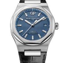 Girard Perregaux 81005-11-431-BB6A Steel Laureato new