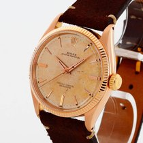 Rolex Oyster Perpetual 6567 Very good Rose gold 34mm Automatic