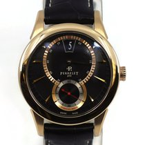 Perrelet Aur roz Atomat Negru Arabic 40mm folosit