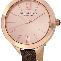 Stuhrling Steel 38mm Quartz 975.04 new