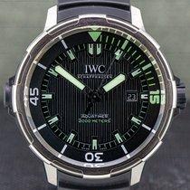 IWC Aquatimer Automatic 2000 Titanium 46mm Black Arabic numerals