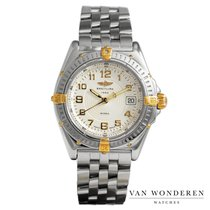 Breitling Wings Lady Gold/Steel 31mm White