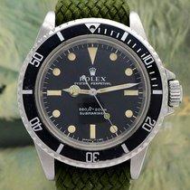 Rolex Submariner (No Date) Zeljezo 40mm Crn Bez brojeva