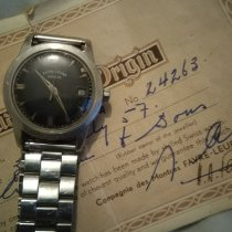 Favre-Leuba Steel 34mm Automatic pre-owned