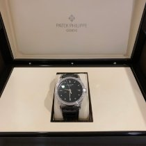 Patek Philippe Calatrava White gold 38mm Black No numerals