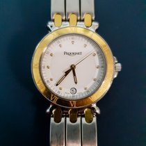 Pequignet Moorea Gold/Steel 32mm White No numerals