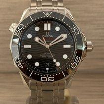 Omega Seamaster Diver 300 M Acier 42mm Noir Sans chiffres