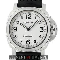 Panerai Luminor Base Steel 44mm White Arabic numerals United States of America, New York, New York