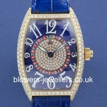 Franck Muller Yellow gold Automatic 2009 Vegas