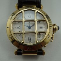 Cartier Pasha Yellow gold 38.5mm White Roman numerals United States of America, Texas, Houston