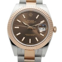 Rolex Datejust II Gold/Steel 41mm Brown United States of America, New York, New York