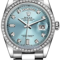 Rolex Platinum 36mm Automatic Day-Date 36 new United States of America, New York, Airmont
