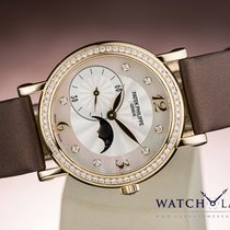 Patek Philippe CALATRAVA MOON PHASE MOP DIAL & DIAMONDS LADY...
