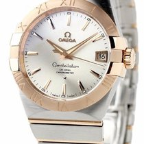 Omega 123.20.38.21.02.001 Constellation Men's Co-Axial 38MM...