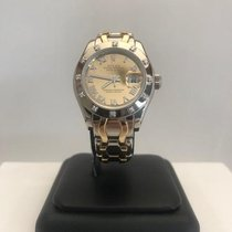 Rolex Lady-Datejust Pearlmaster White gold 29mm Roman numerals United States of America, New York, Plainview