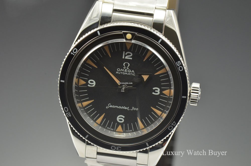 Omega Seamaster 300 Co Axial 1957 Trilogy 60th Anniversary For 8 650 For Sale From A Trusted