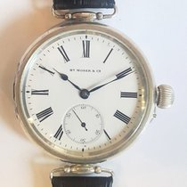 H.Moser & Cie. usados Cuerda manual 52mm Blanco