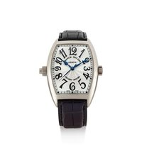 Franck Muller | A White Gold Tonneau-form Automatic Center...