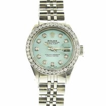 Rolex 69163 Steel Oyster Perpetual Lady Date 26mm pre-owned United States of America, New York, new york