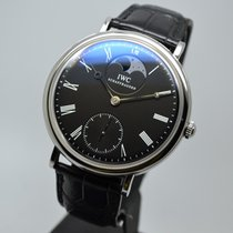 IWC Portofino Hand-Wound 46mm Moon Phase 5448 Steel