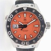TAG Heuer Aquaracer 500M Steel 43mm Orange No numerals